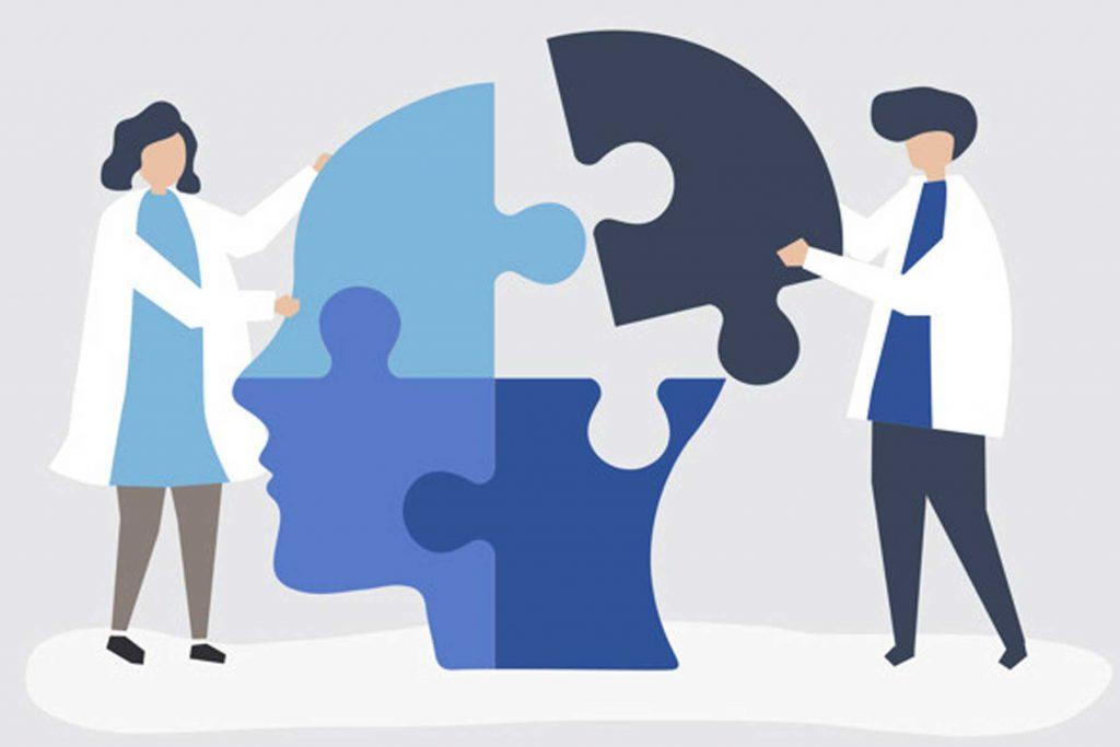 روانشناسی به پیکربندی ذهن بیمار کمک میکند.